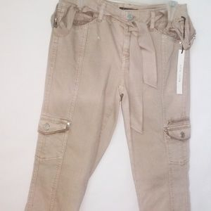 NWT White House Black Market Bling Cargo Jean (2R)